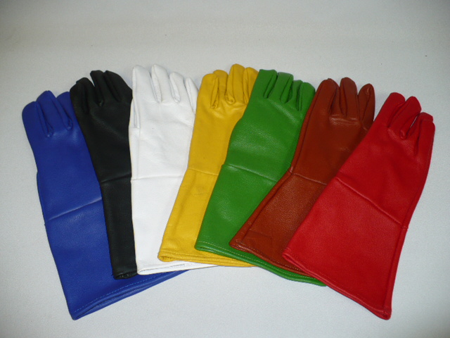 Fighting Weight Leather Gloves